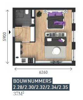 Property photo - Bouwnummer 228, 2611BV Delft