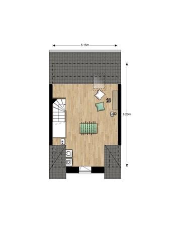 Floorplan - Bouwnummer Bouwnummer 678, 6852 Huissen