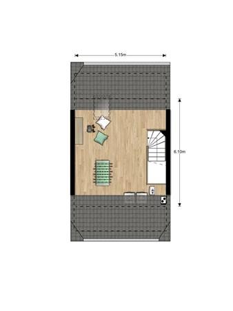 Floorplan - Bouwnummer Bouwnummer 680, 6852 Huissen