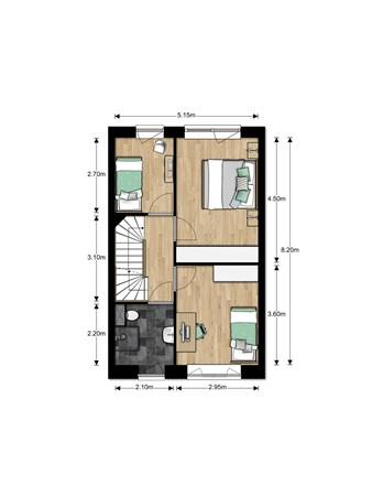Floorplan - Bouwnummer Bouwnummer 699, 6852 Huissen