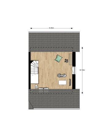 Floorplan - Bouwnummer Bouwnummer 698, 6852 Huissen