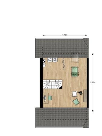 Floorplan - Bouwnummer Bouwnummer 687, 6852 Huissen