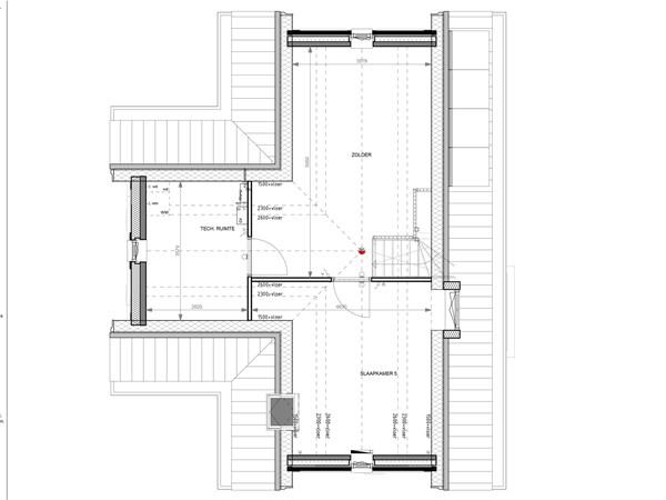 Floorplan - Bouwnummer 003 Bouwnummer 003, 6852 AA Huissen