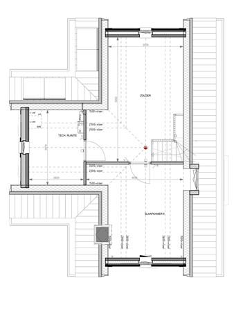 Floorplan - Bouwnummer 005 Bouwnummer 005, 6852 AA Huissen