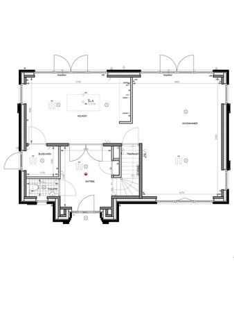 Floorplan - Bouwnummer 007 Bouwnummer 007, 6852 AA Huissen