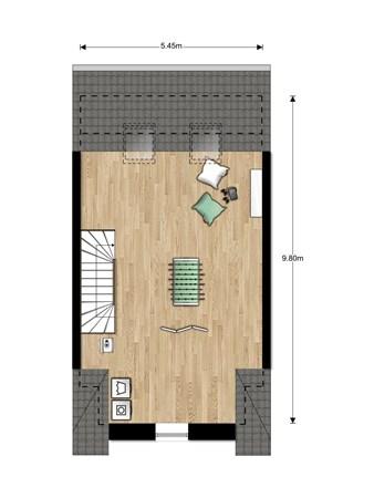 Floorplan - Bouwnummer Bouwnummer 685, 6852 Huissen