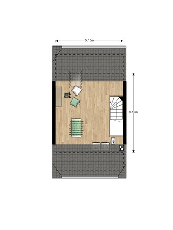 Floorplan - Bouwnummer Bouwnummer 700, 6852 Huissen