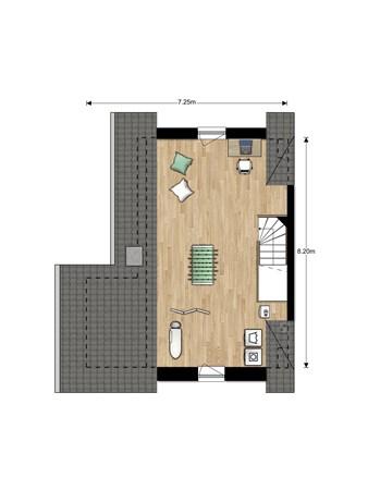 Floorplan - Bouwnummer Bouwnummer 672, 6852 Huissen