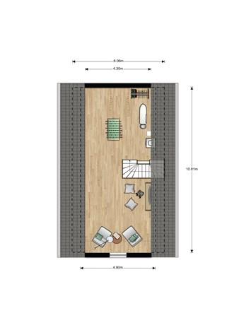 Floorplan - Bouwnummer 022, 6846 EM Arnhem
