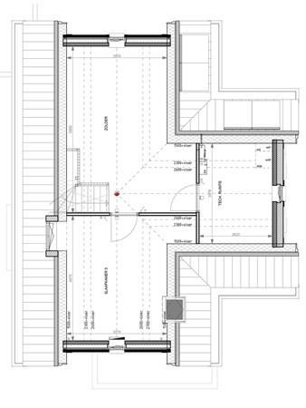 Floorplan - Bouwnummer 001, 6852 AA Huissen