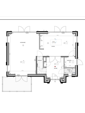Floorplan - Bouwnummer 004, 6852 AA Huissen