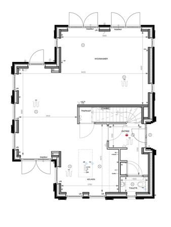 Floorplan - Bouwnummer 005, 6852 AA Huissen