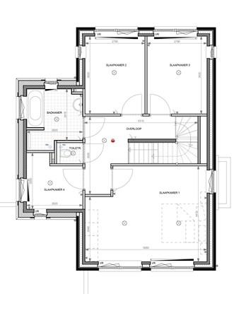 Floorplan - Bouwnummer 008, 6852 AA Huissen
