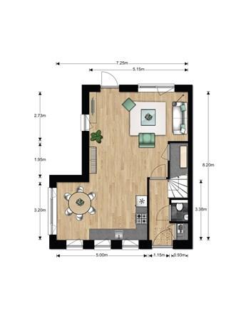 Floorplan - Bouwnummer 614, 6852 AA Huissen