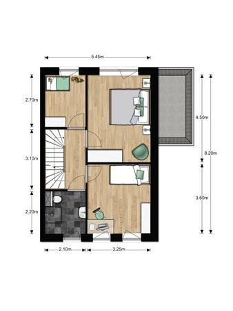 Floorplan - Bouwnummer 622, 6852 AA Huissen