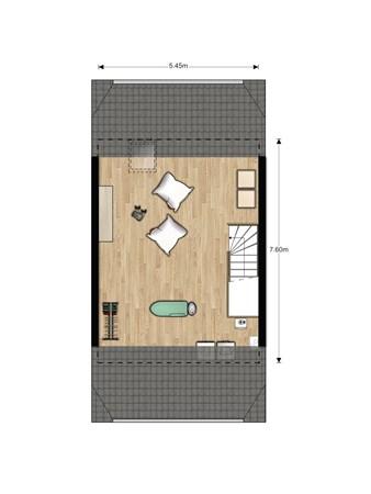 Floorplan - Bouwnummer 633, 6852 AA Huissen