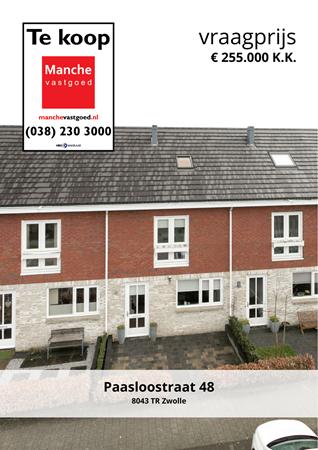 Brochure preview - Paasloostraat 48, 8043 TR ZWOLLE (1)