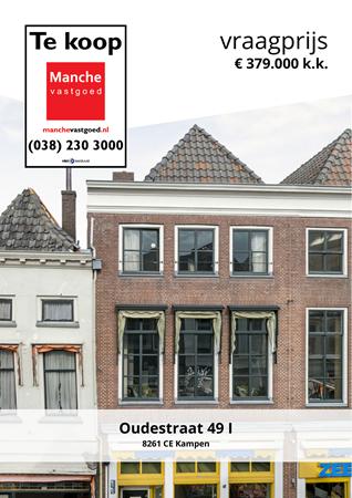 Brochure preview - Oudestraat 49-I, 8261 CE KAMPEN (1)