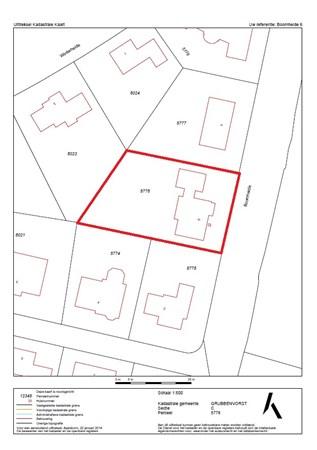 Floorplan - Boomheide 6, 5971 GG Grubbenvorst