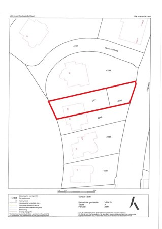 Floorplan - Wilhelminapark 22a, 5911 ED Venlo