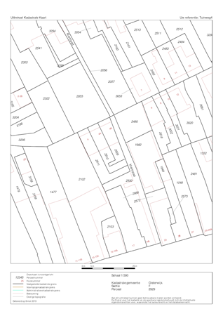 Floorplan - Tuinweg 4b, 5061 HM Oisterwijk