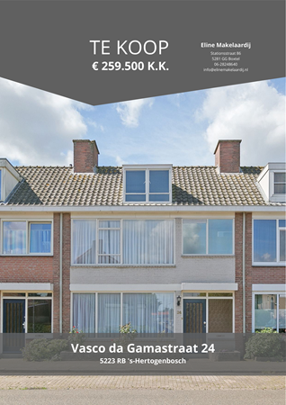 Brochure preview - Vasco da Gamastraat 24, 5223 RB 'S-HERTOGENBOSCH (1)