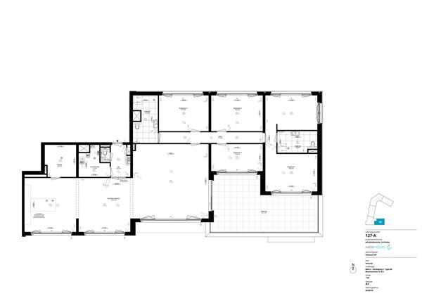 Floorplan - Coenensparkstraat Bouwnummer G.16.5, 7202 AN Zutphen