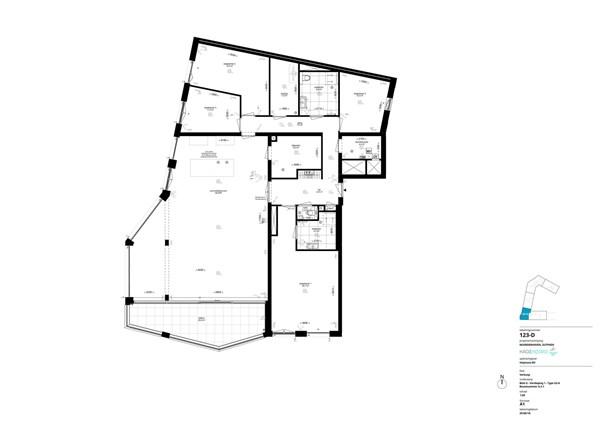 Floorplan - Bouwnummer G.3.1, 7202 AN Alblasserdam
