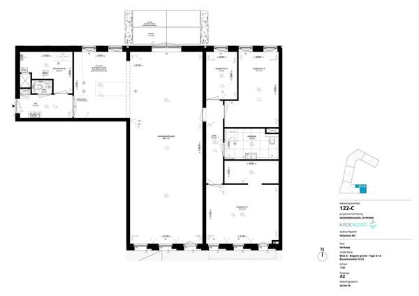 Floorplan - Bouwnummer G.2.0, 7202 AN Alblasserdam