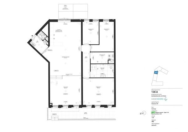 Floorplan - Bouwnummer I.3.0, 7202 AN Alblasserdam
