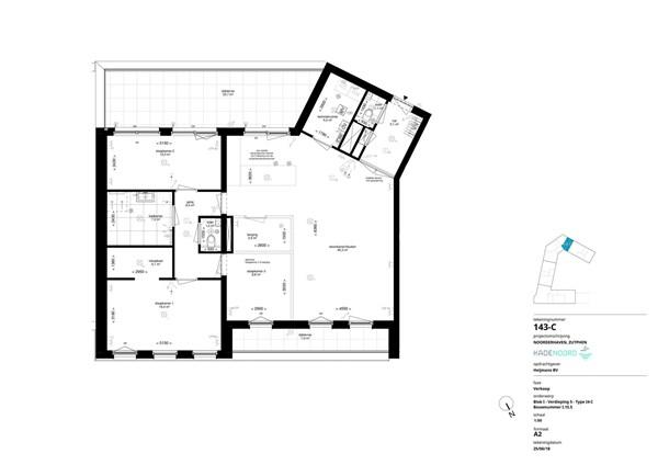 Floorplan - Bouwnummer I.15.5, 7202 AN Alblasserdam