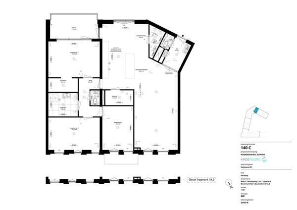 Floorplan - Bouwnummer I.6.2, 7202 AN Alblasserdam