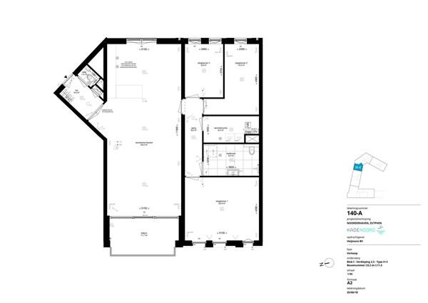 Floorplan - Bouwnummer I.8.2, 7202 AN Alblasserdam