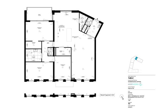 Floorplan - Coenensparkstraat Bouwnummer I.9.3, 7202 AN Zutphen