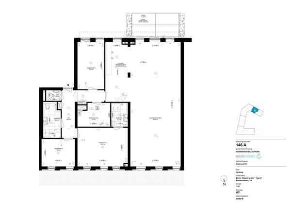 Floorplan - Coenensparkstraat Bouwnummer J.2.0, 7202 AN Zutphen