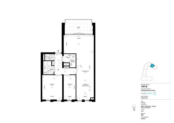Floorplan - Bouwnummer J.4.1, 7202 AN Alblasserdam