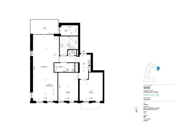 Floorplan - Bouwnummer J.5.2, 7202 AN Alblasserdam