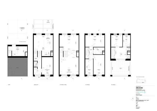 Floorplan - Bouwnummer D 3, 7202 AN Zutphen