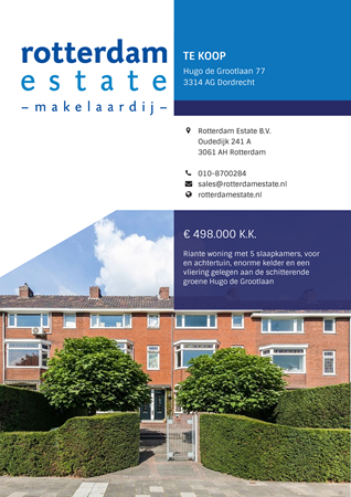 Brochure preview - Hugo de Grootlaan 77, 3314 AG DORDRECHT (2)