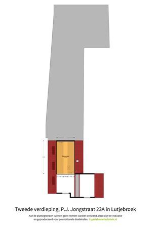 Floorplan - Pieter Janszoon Jongstraat 23A, 1614 LA Lutjebroek