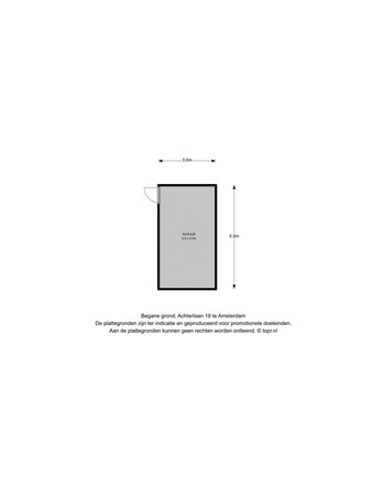 Floorplan - Achterlaan 19, 1027 AJ Amsterdam