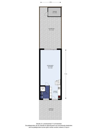 Floorplan - N. Lansdorpstraat 11, 1022 KB Amsterdam