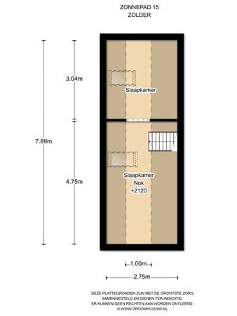 Floorplan - Zonnepad 15, 1141 SN Monnickendam