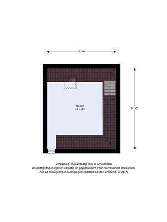Floorplan - Buiksloterdijk 324& 326, 1034 ZE Amsterdam