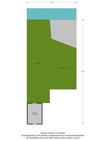 Floorplan - Rozewerf 11, 1156 CX Marken