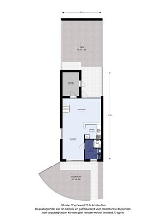 Floorplan - Voordewind 28, 1034 KT Amsterdam