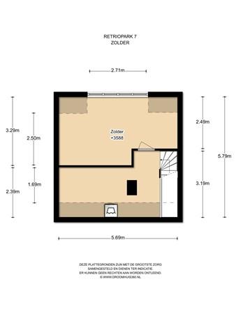 Floorplan - Retiropark 7, 1448 GG Purmerend
