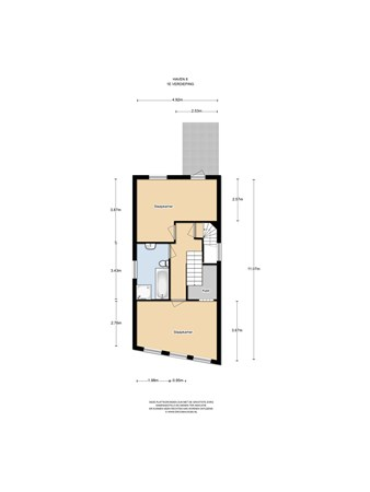 Floorplan - De Haven 8, 1141 AZ Monnickendam