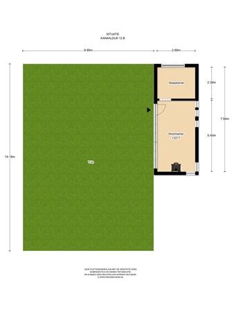 Floorplan - Kanaaldijk 12A - 23, 1121 NX Landsmeer