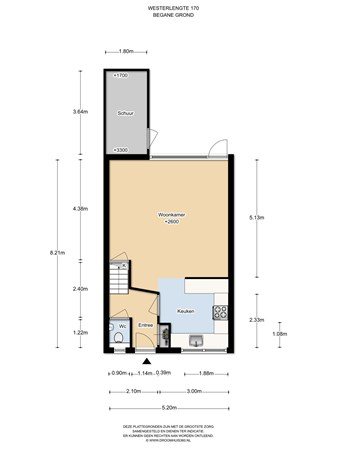 Floorplan - Westerlengte 170, 1034 PT Amsterdam